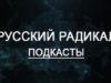 Первые 20 выпусков подкаста «Русский Радикал»